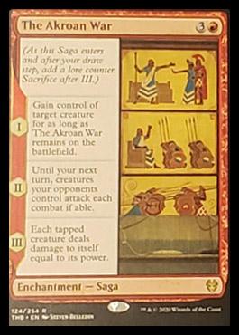 The Akroan War Leak Magic Theros Beyond Death