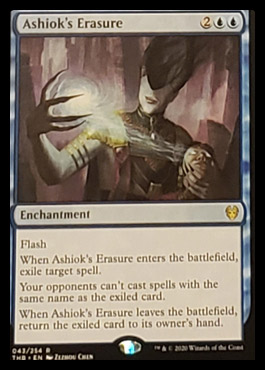 Ashiok's Erasure Leak Magic Theros Beyond Death