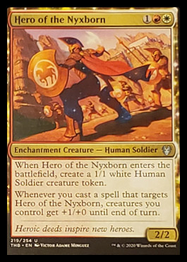 Hero of the Nyxborn Leak Magic Theros Beyond Death