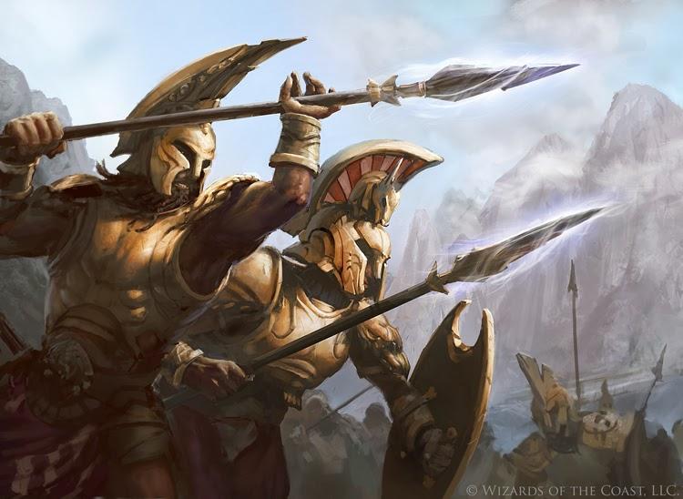 Coordinated Assault Art Magic Theros