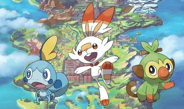 Pokémon Sword and Shield starters and legendaries will