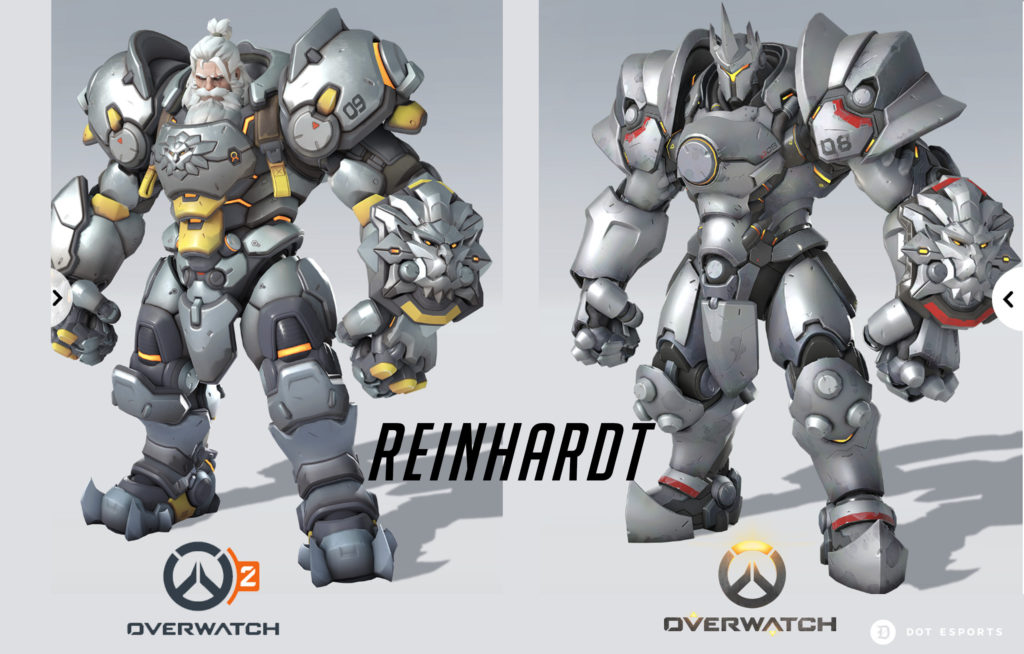 What Do The Characters In Overwatch 2 Look Like Dot Esports