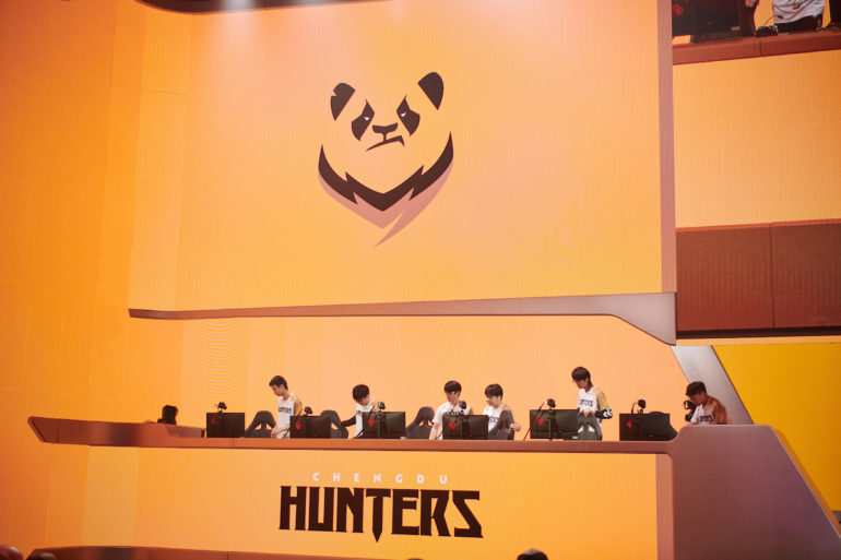 Chengdu Hunters Walkout