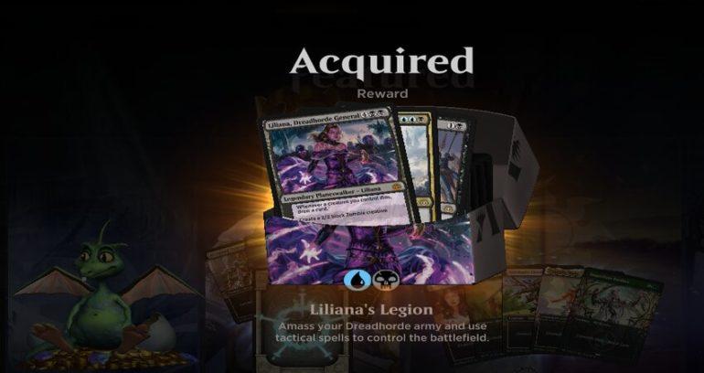 Twitch Prime Liliana Legion Deck MTG Arena
