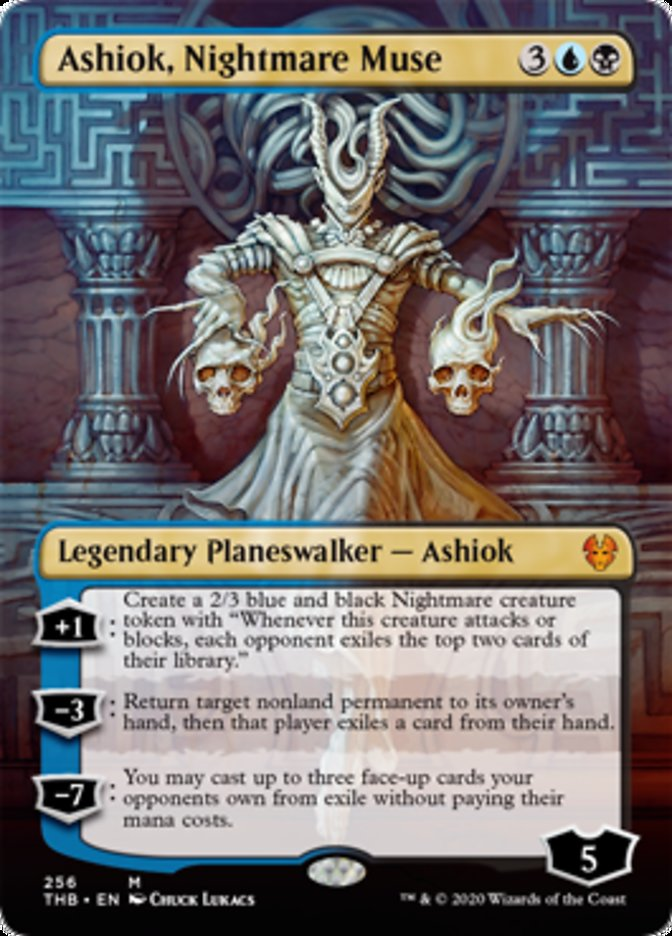 Ashiok, Nightmare Muse Magic Theros Beyond Death