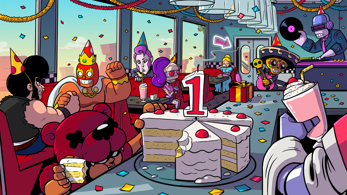 Brawl Stars Will Give Daily Celebration Gifts For Its One