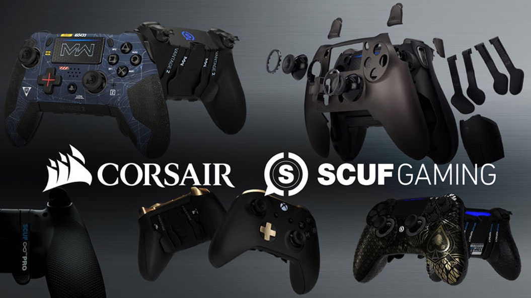 Corsair Continues Hardware Market Domination, Acquires Controller King SCUF
