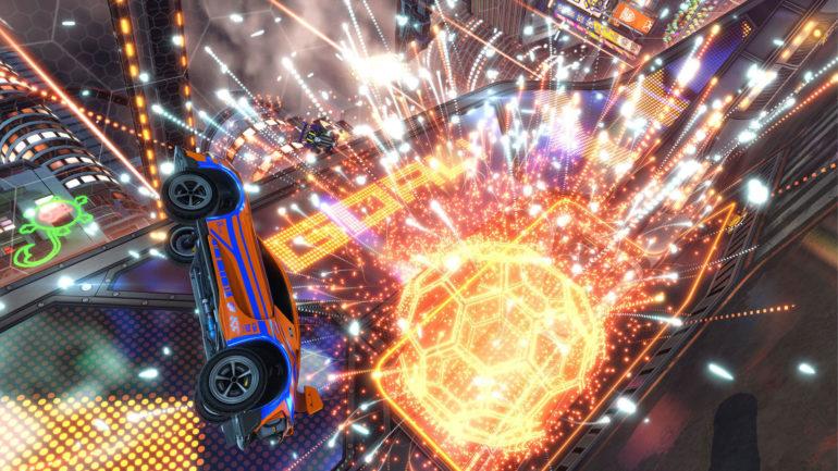 rocket league gameplay jun2018