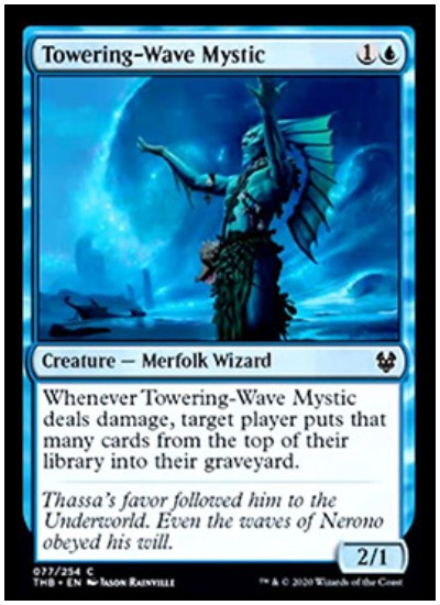 Towering Wave Mystic THB MTG