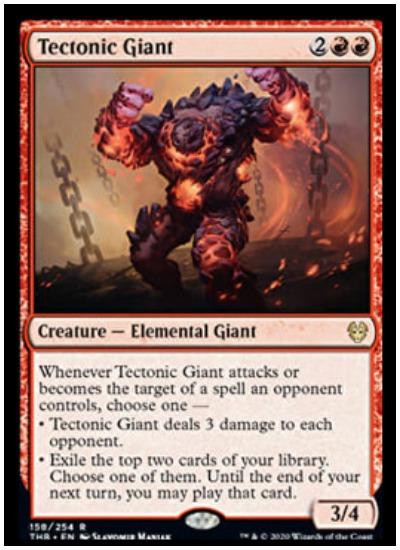Tectonic Giant THB MTG
