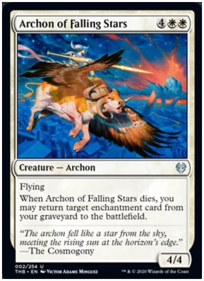 Archon of Falling Stars THB MTG