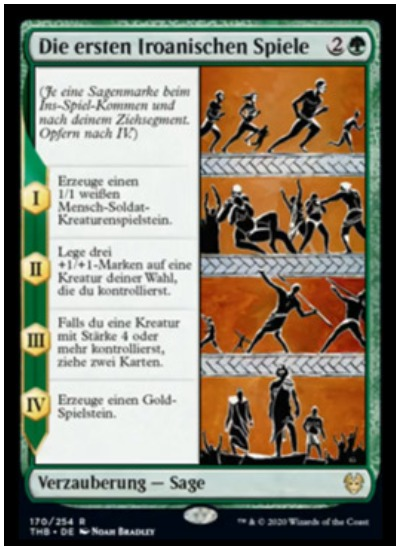 The First Iroanian Games THB Magic The Gathering