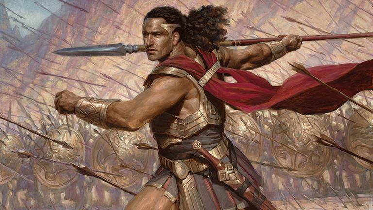 Haktos the Unscarred Art Magic Theros Beyond Death