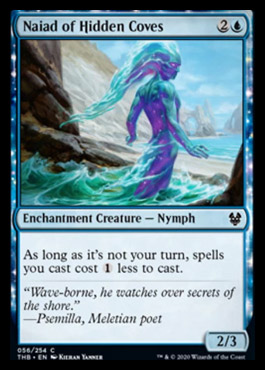 Naiad of Hidden Coves Spoiler MTG Theros Beyond Death