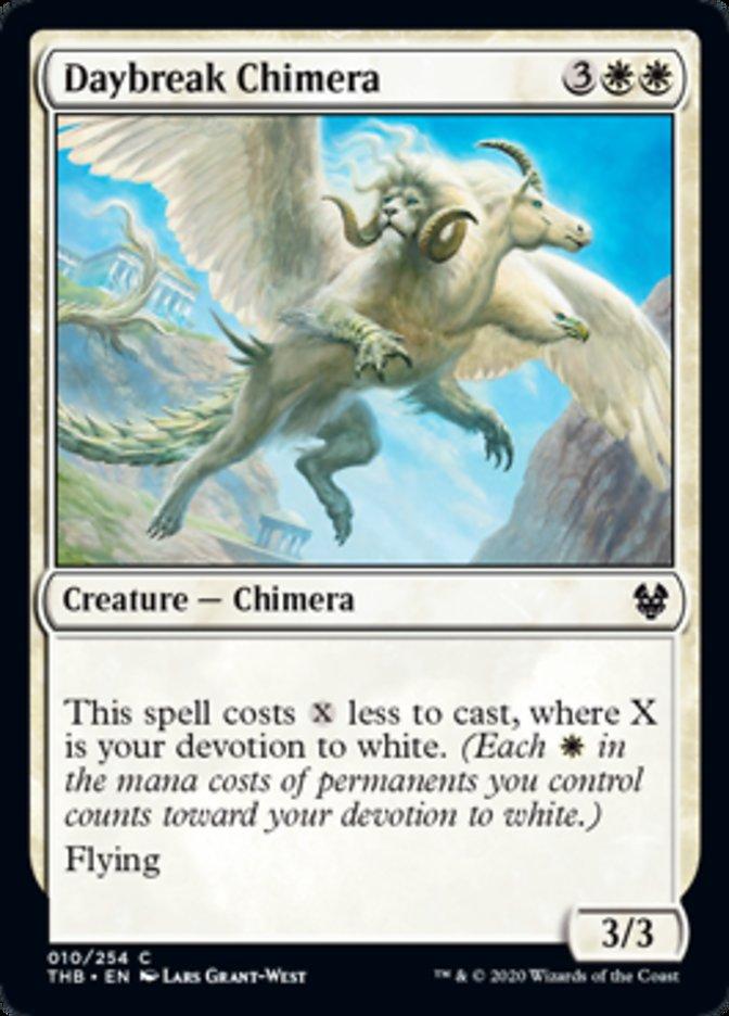 Daybreak Chimera Spoiler Magic Theros Beyond Death