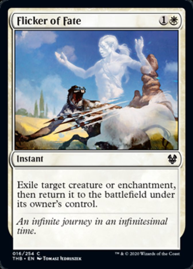 Flicker of Fate Spoiler Magic Theros Beyond Death