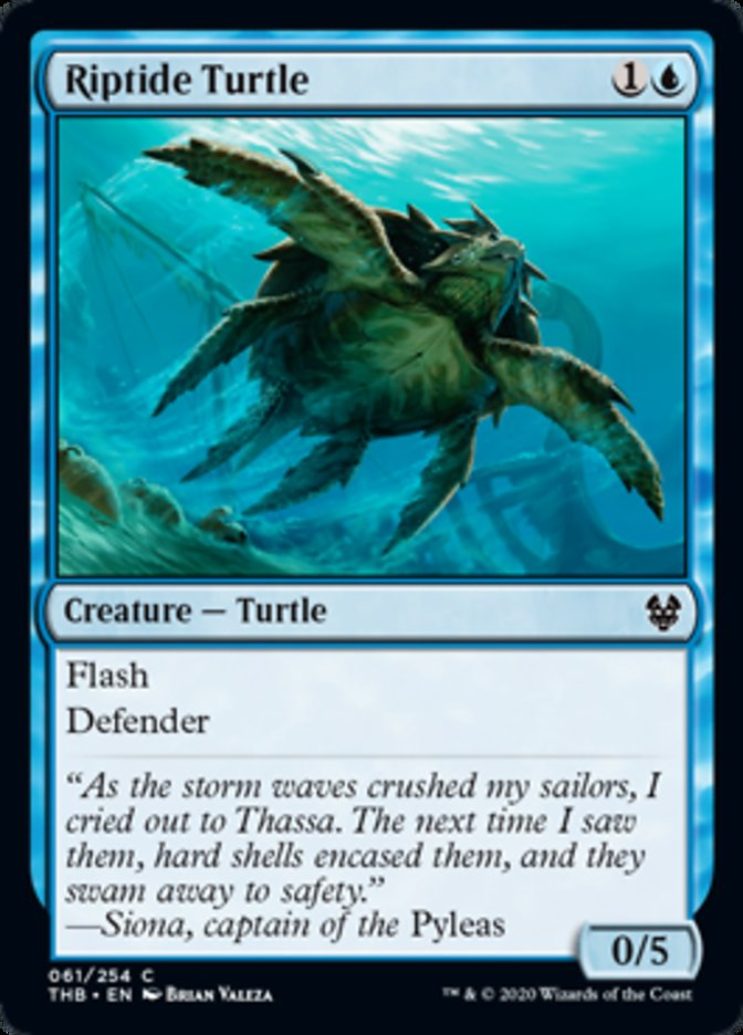 Riptide Turtle Spoiler Magic Theros Beyond Death