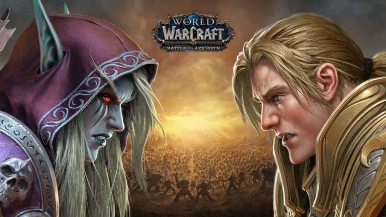 World_of_Warcraft_Battle_for_Azeroth_Sylvanas_v._Anduin_Key_Art