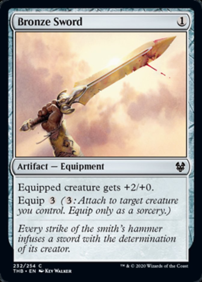 Bronze Sword Spoiler Magic Theros Beyond Death