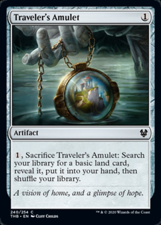 Traveler's Amulet Spoiler Magic Theros Beyond Death