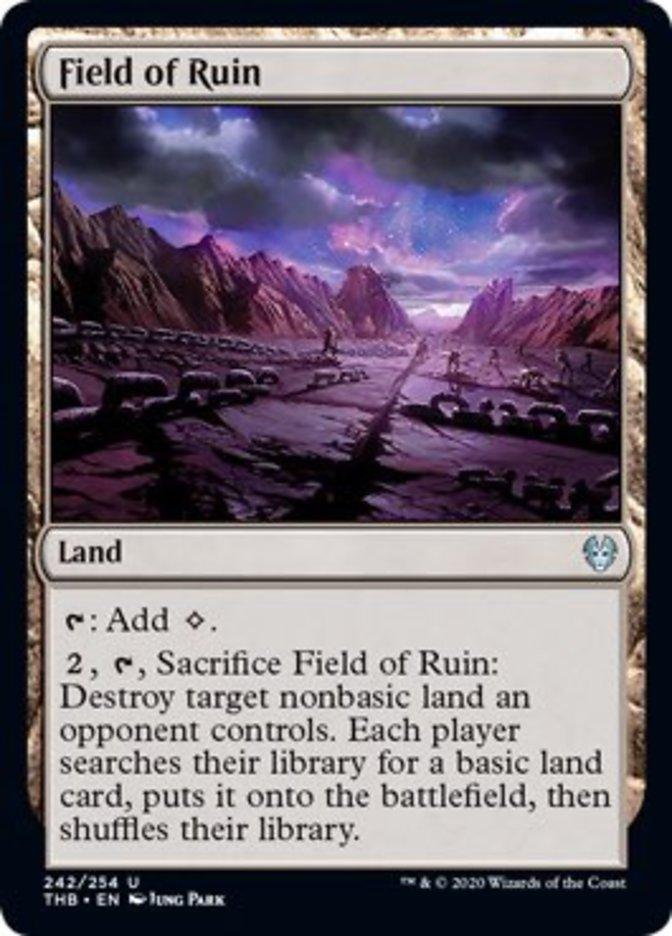 Field of Ruin Spoiler Magic Theros Beyond Death