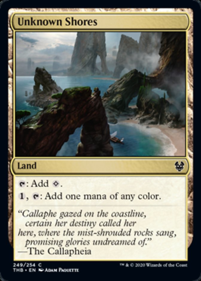 Unknown Shores Spoiler Magic Theros Beyond Death
