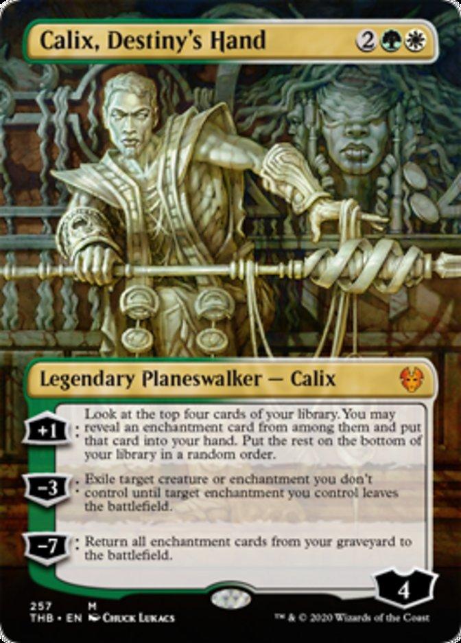 Calix Destiny's Hand Borderless Spoiler Magic Theros Beyond Death