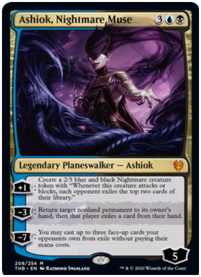 Ashiok, Nightmare Muse MTG THB