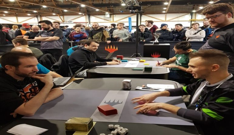 MTG Players Tour Brussels day two Booster Draft Standings