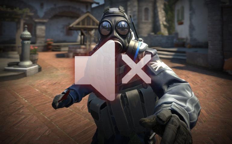 CS:GO muted
