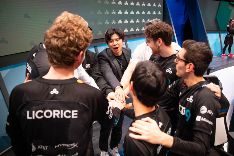 Cloud9 C9 Win LCS