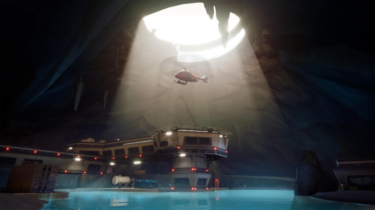 Fortnite cave