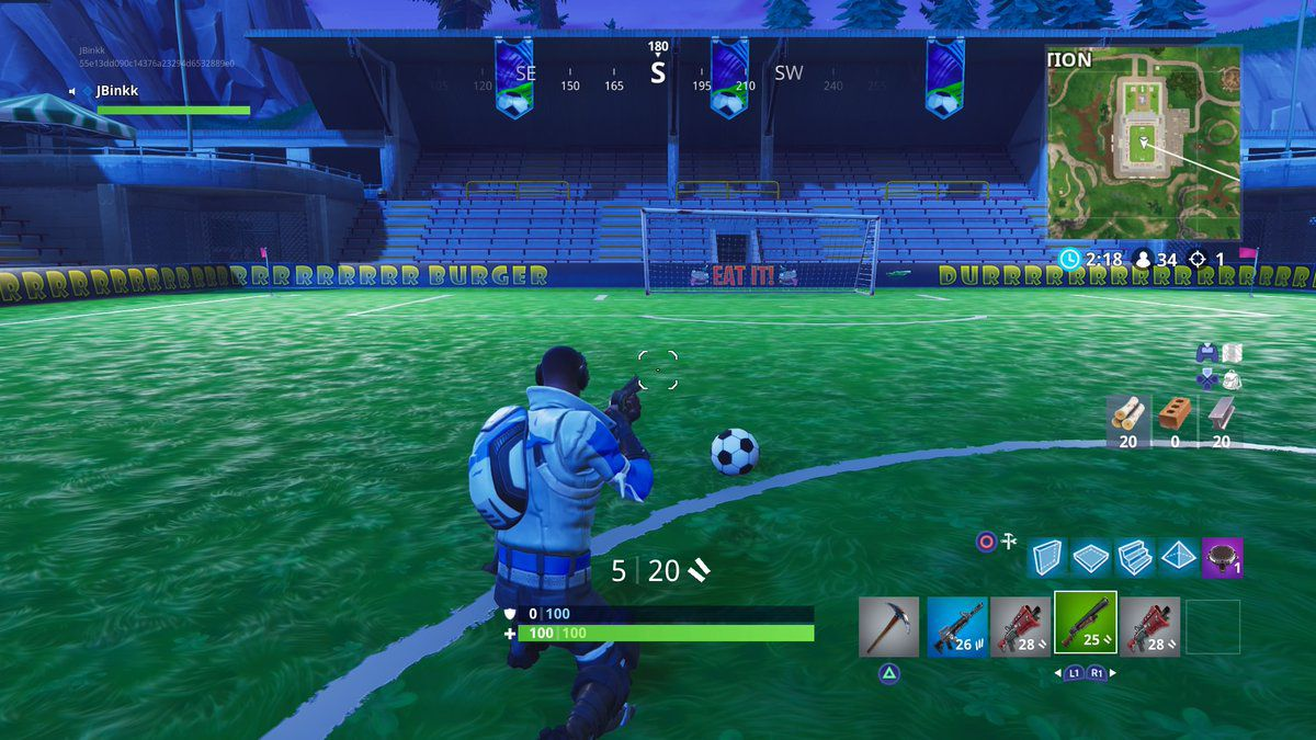 Heres Where To Score A Goal On 5 Different Soccer Fields For Fortnites Weekly Challenges
