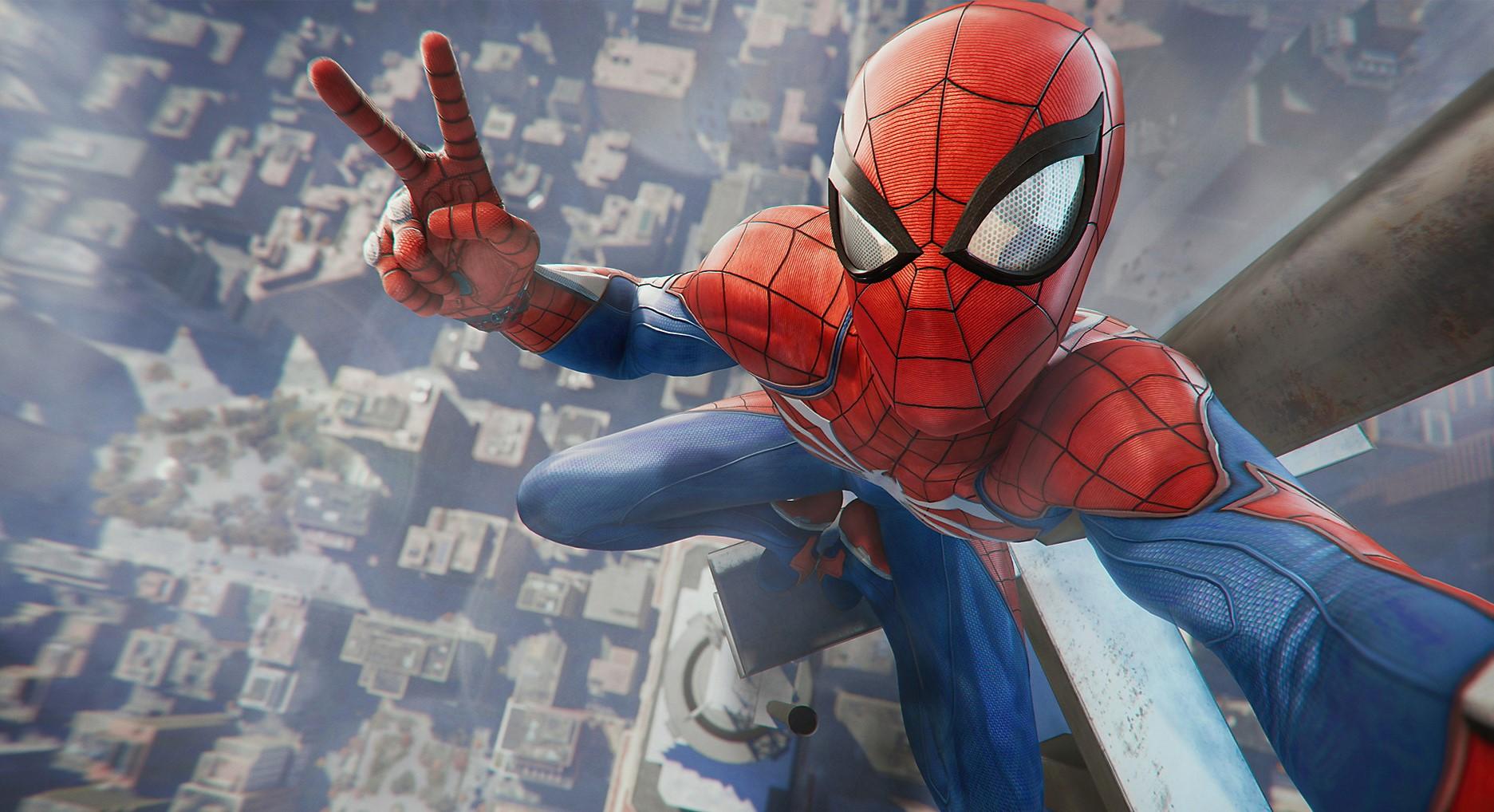 Image result for Spider-man photo mode