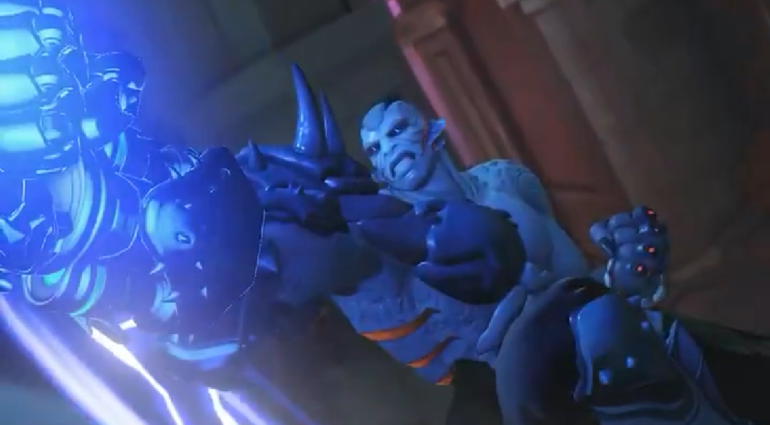 Visual Doomfist Monstro do Pântano