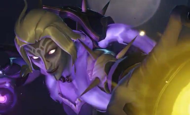 Visual Moira Banshee em Overwatch para o Halloween