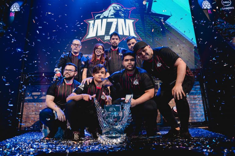 W7M campeã da ESL LA League