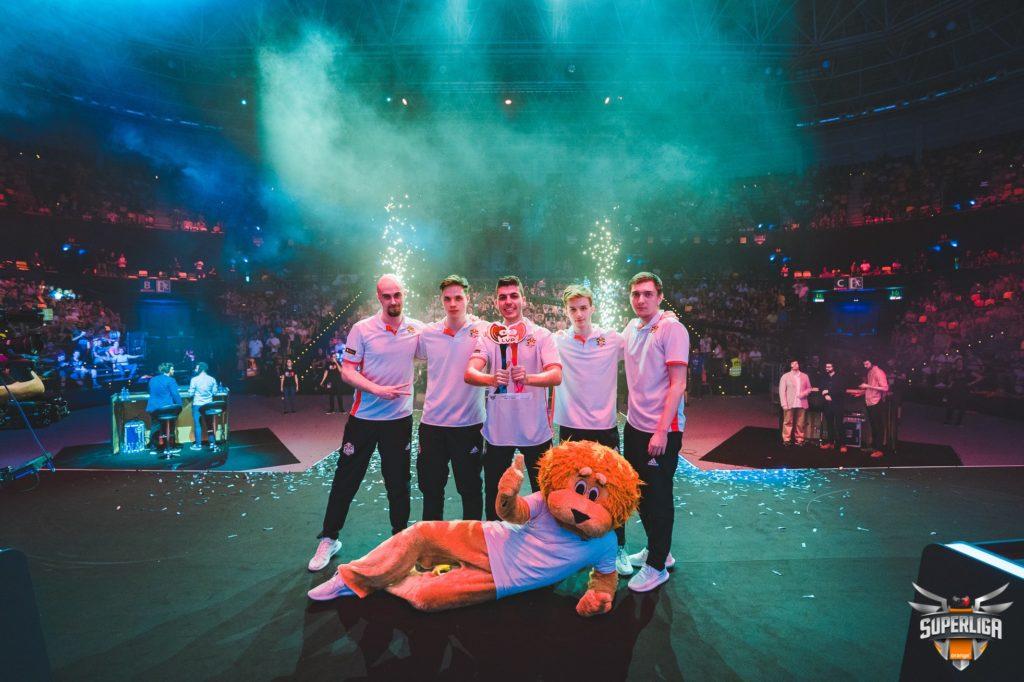 MAD Lions se alza con el título en Bilbao