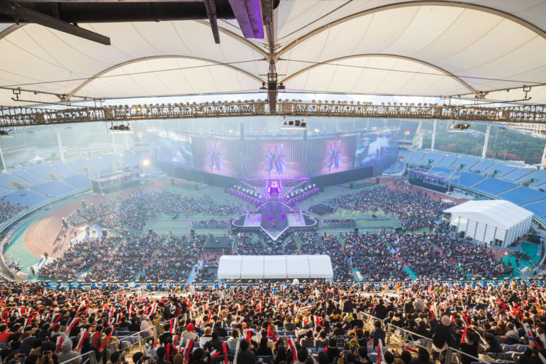 Final de League of Legends 2018 en Incheon, Corea